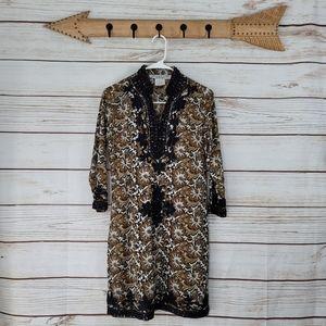 Gretchen Scott | Embroidered Kimono Dress